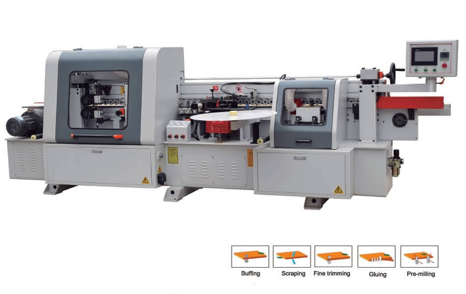 VKF-105B Automatic edge banding machcine for woodworking